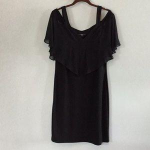 Little Black Dress, Chiffon Sleeves by MSK Size 10